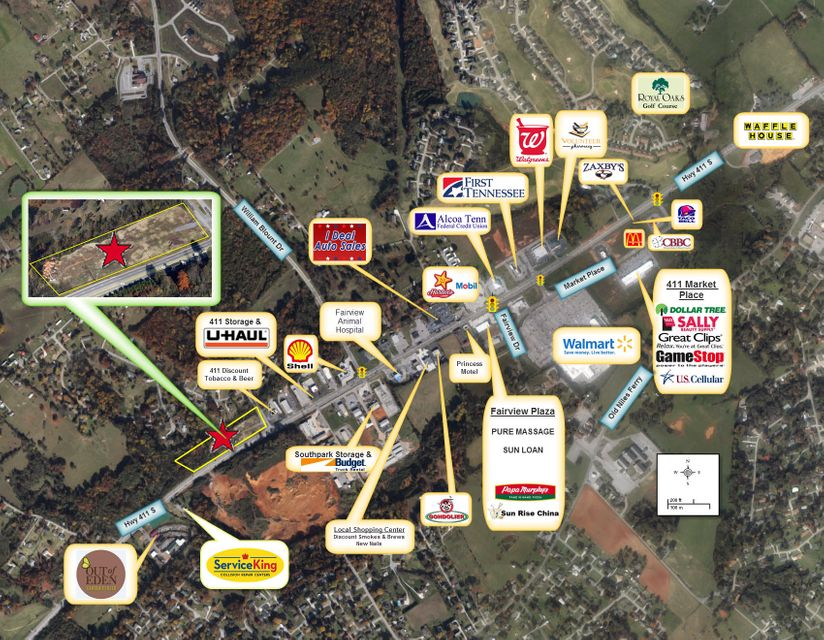 Commercial for Sale at Highway 411 Highway 411 Maryville, Tennessee 37801 United States