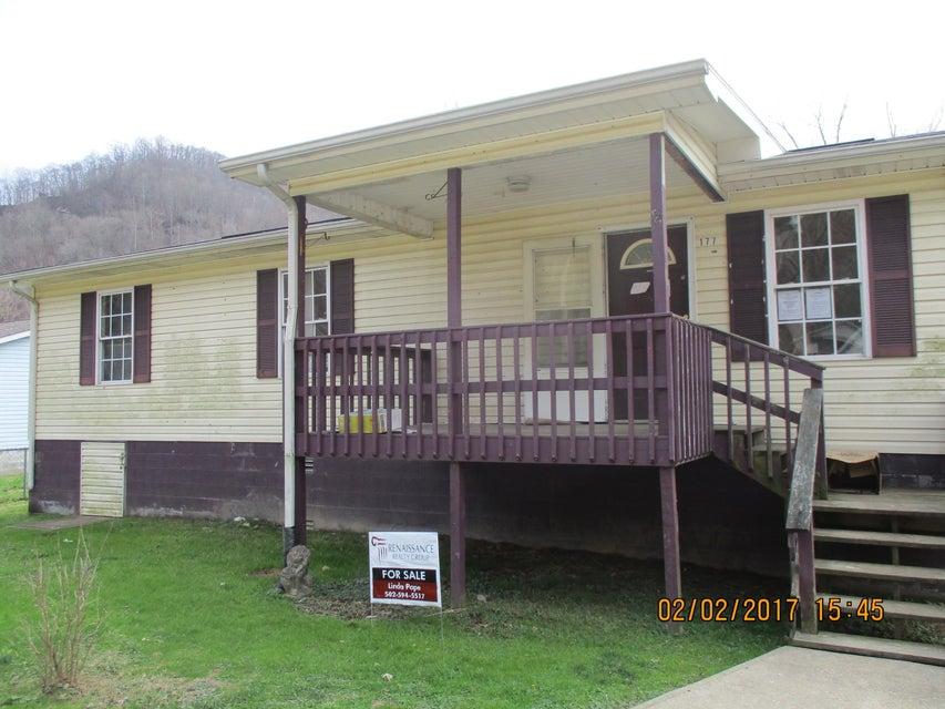Частный односемейный дом для того Продажа на 177 Albert Lane Harlan, Кентукки 40831 Соединенные Штаты