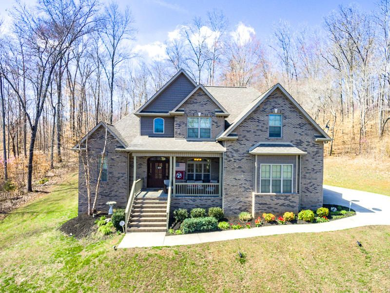 Частный односемейный дом для того Продажа на 449 Hickory Pointe Lane Maynardville, Теннесси 37807 Соединенные Штаты