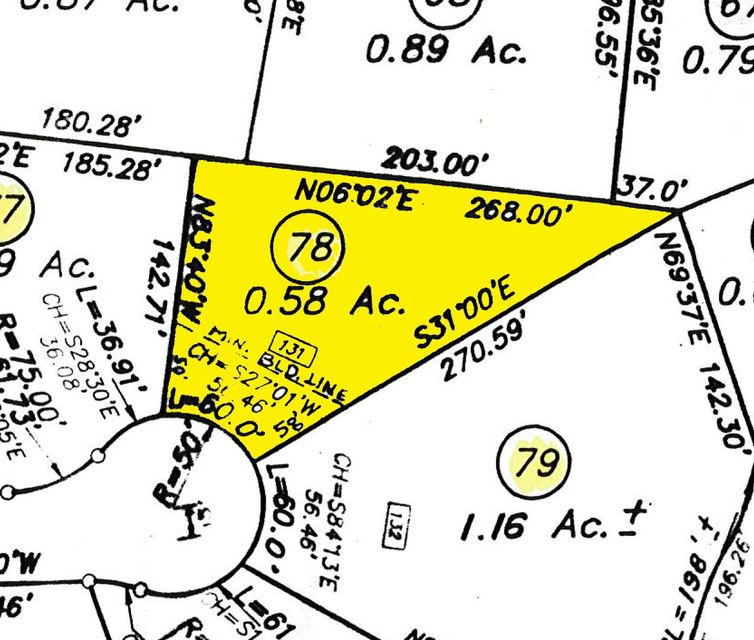 Terrain pour l Vente à 131 Lot 78 Turtle Cove Court 131 Lot 78 Turtle Cove Court Lenoir City, Tennessee 37772 États-Unis