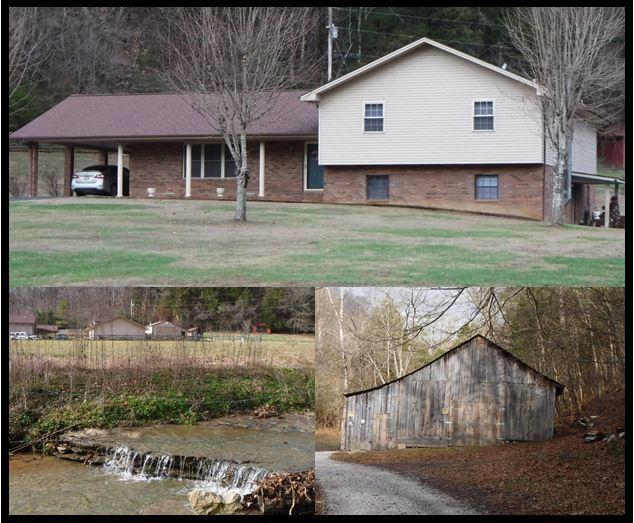 Частный односемейный дом для того Продажа на 161 Scott Hollow Road 161 Scott Hollow Road Celina, Теннесси 38551 Соединенные Штаты