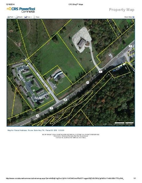 Land for Sale at 3310 Roane State Hwy 3310 Roane State Hwy Harriman, Tennessee 37748 United States