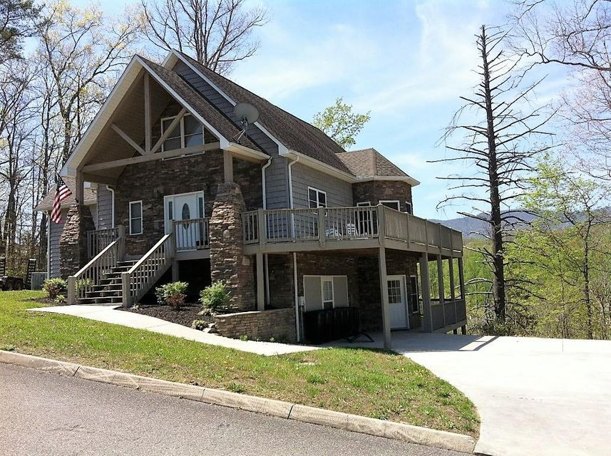 Maison unifamiliale pour l Vente à 216 Bluff Trace Jacksboro, Tennessee 37757 États-Unis