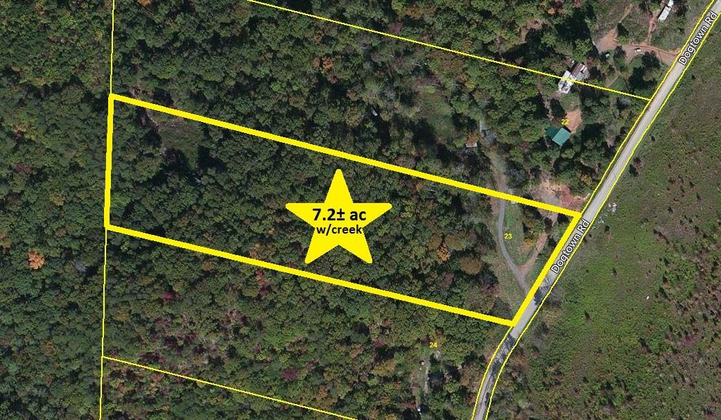 Terrain pour l Vente à 1298 Dogtown Road Ten Mile, Tennessee 37880 États-Unis
