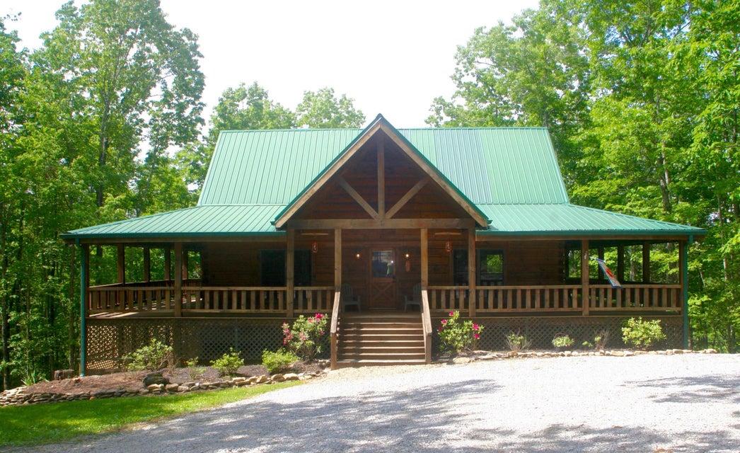 独户住宅 为 销售 在 336 John Smith Road Oneida, 田纳西州 37841 美国