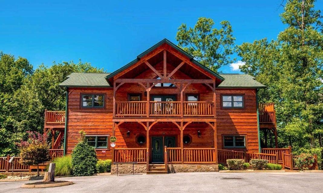 Частный односемейный дом для того Продажа на 319 Poplar Point Way Gatlinburg, Теннесси 37738 Соединенные Штаты