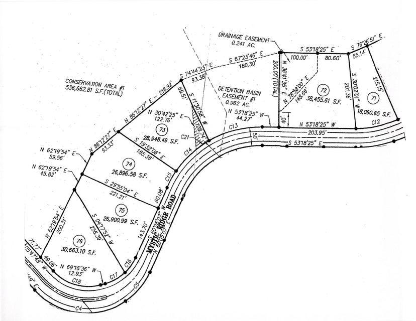土地,用地 为 销售 在 Mystic Ridge Road Mystic Ridge Road 诺克斯维尔, 田纳西州 37922 美国