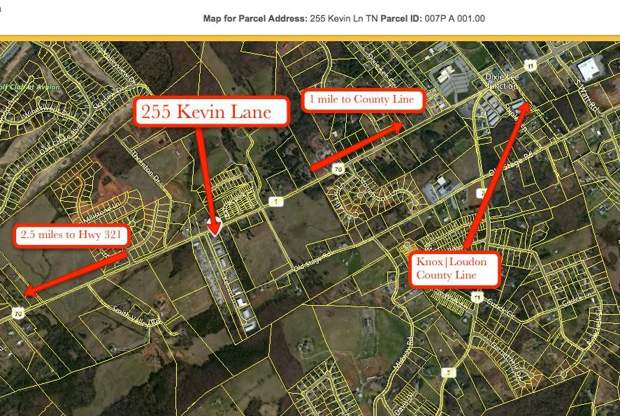 Commercial pour l Vente à 255 Kevin Lane 255 Kevin Lane Lenoir City, Tennessee 37772 États-Unis