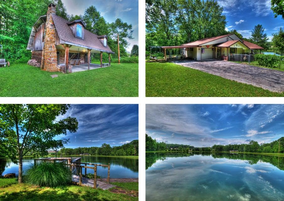 Maison unifamiliale pour l Vente à 980 Old Jamestown Road 980 Old Jamestown Road Helenwood, Tennessee 37755 États-Unis