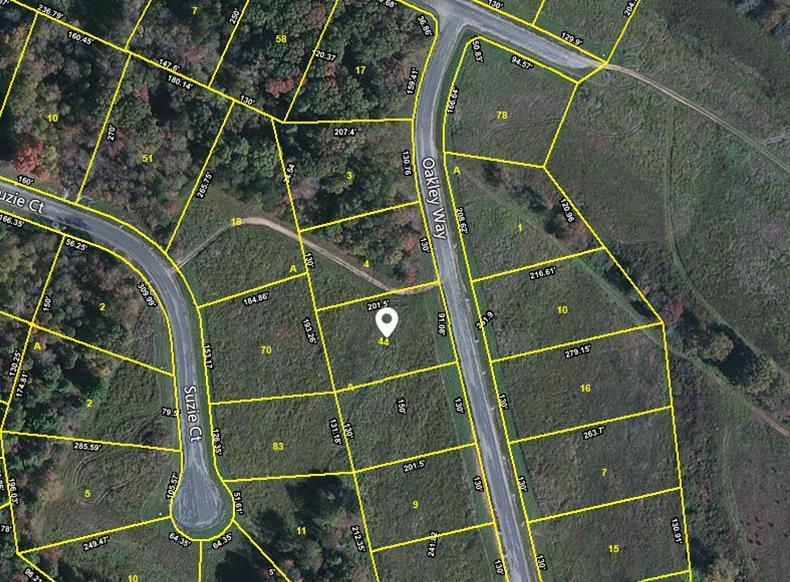 Terrain pour l Vente à Oakley Way Oakley Way Crossville, Tennessee 38555 États-Unis