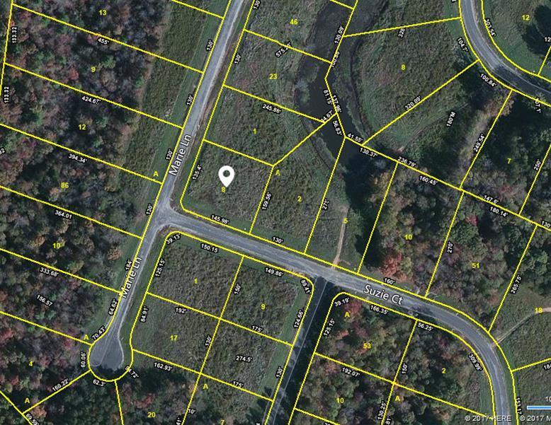 Terrain pour l Vente à Suzie Court Suzie Court Crossville, Tennessee 38555 États-Unis