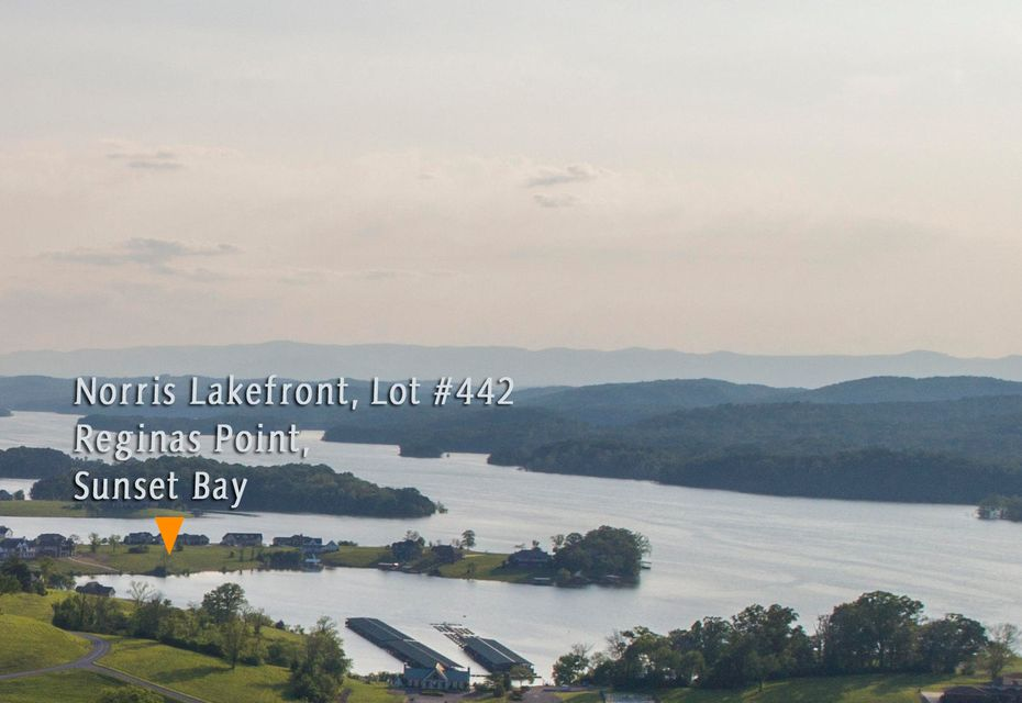 Waterfront lot for sale at Sunset Bay