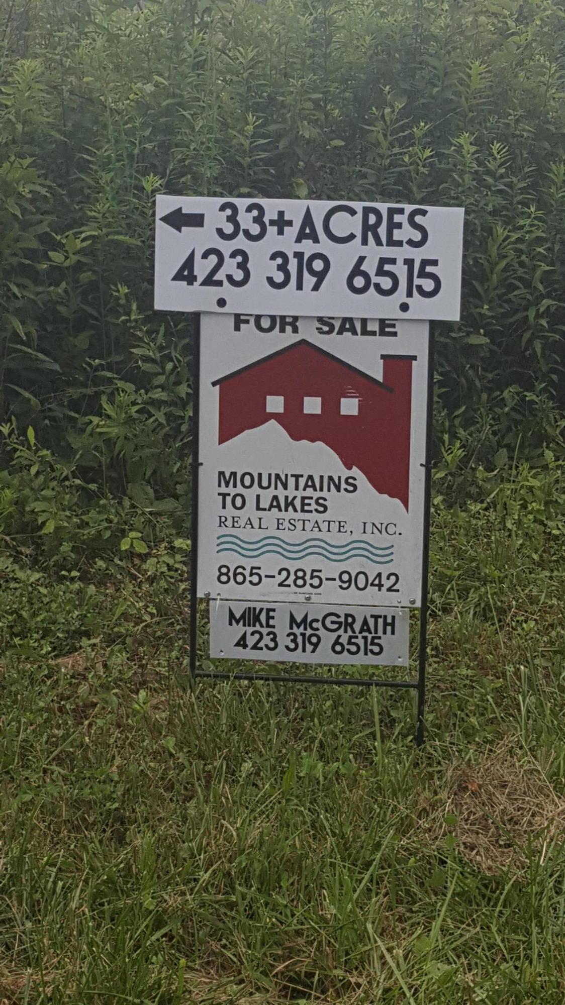 Terrain pour l Vente à Of Rome Road Lancing, Tennessee 37770 États-Unis