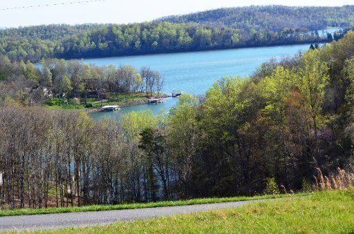 Lake view home site for sale