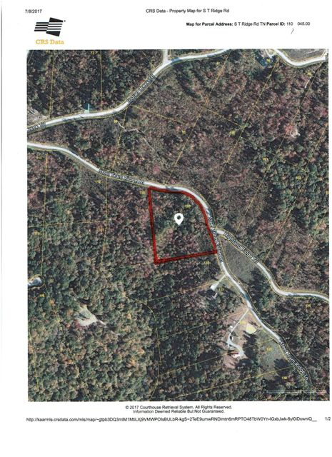 Land for Sale at 109 Steel Tram Ridge Road 109 Steel Tram Ridge Road Crawford, Tennessee 38554 United States