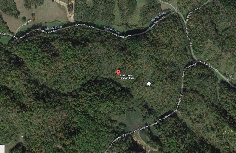 Земля для того Продажа на 2209 Lower Rinehart Road Road Dandridge, Теннесси 37725 Соединенные Штаты