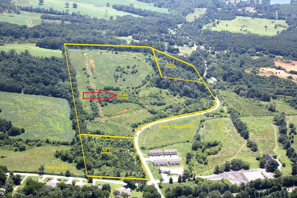 Land for Sale at 1025 Beals Chapel Road 1025 Beals Chapel Road Lenoir City, Tennessee 37772 United States