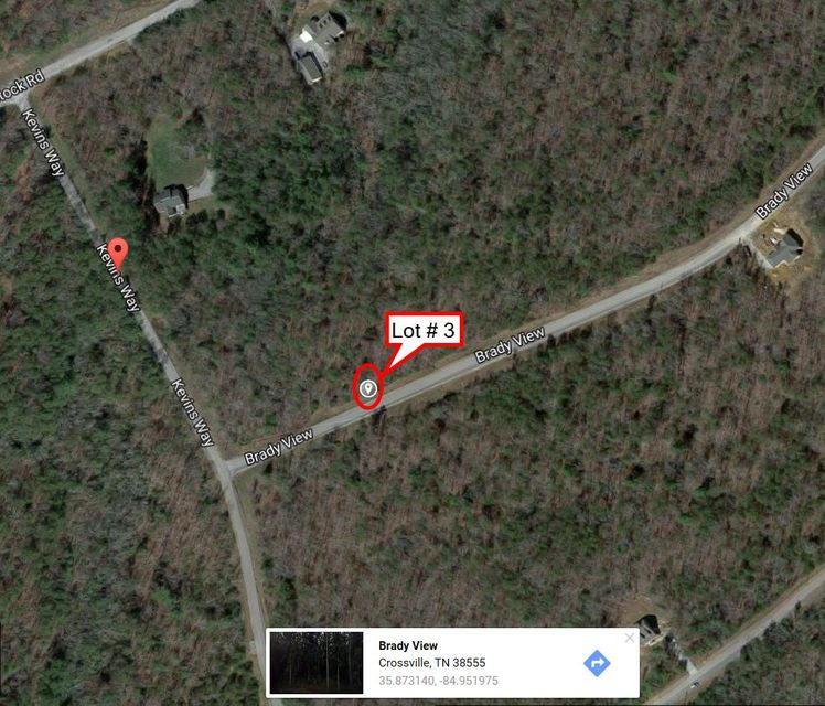 Additional photo for property listing at Lot # 03 Brady View Drive Lot # 03 Brady View Drive Crossville, Tennessee 38555 États-Unis