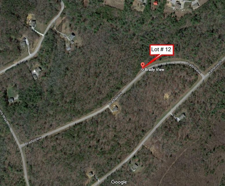 Terrain pour l Vente à Lot # 12 Brady View Drive Lot # 12 Brady View Drive Crossville, Tennessee 38555 États-Unis