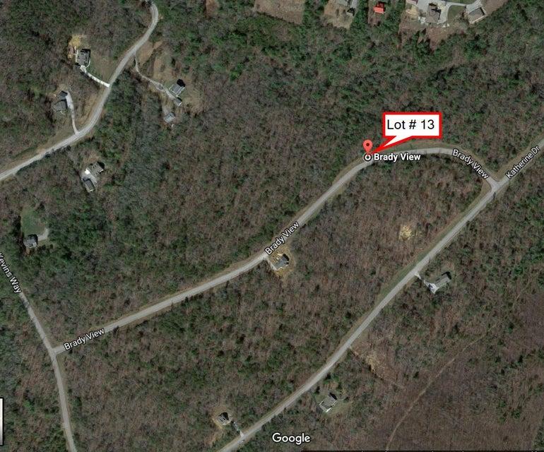Terrain pour l Vente à Lot # 13 Brady View Drive Lot # 13 Brady View Drive Crossville, Tennessee 38555 États-Unis
