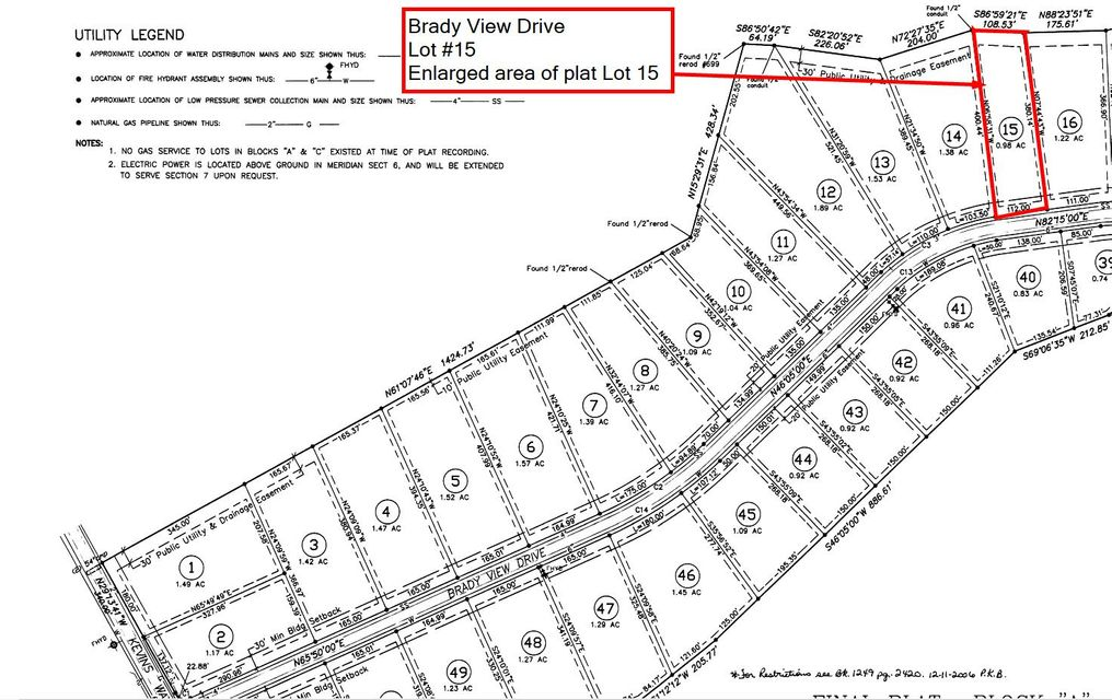 Additional photo for property listing at Lot # 15 Brady View Drive Lot # 15 Brady View Drive Crossville, Tennessee 38555 United States