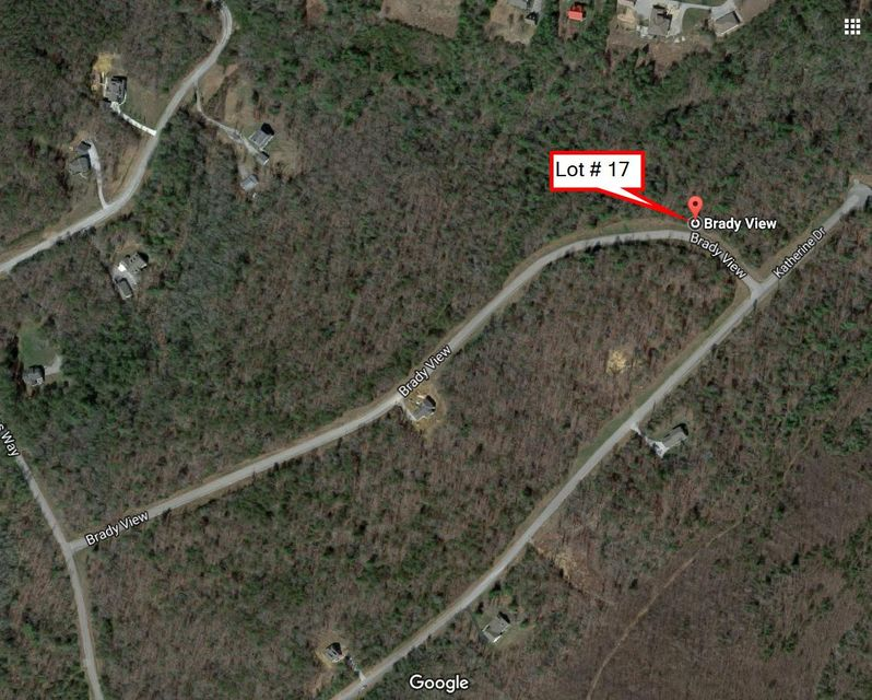 Additional photo for property listing at Lot # 17 Brady View Drive Lot # 17 Brady View Drive Crossville, Tennessee 38555 États-Unis