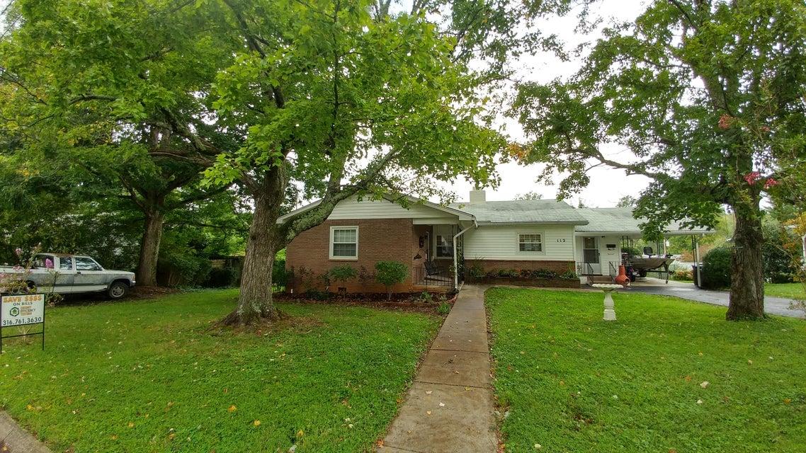Single Family Home for Sale at 112 E Pasadena Road 112 E Pasadena Road Oak Ridge, Tennessee 37830 United States