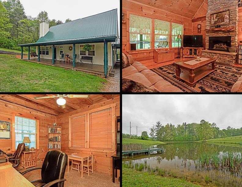 Maison unifamiliale pour l Vente à 1516 Knoxville Hwy 1516 Knoxville Hwy Wartburg, Tennessee 37887 États-Unis