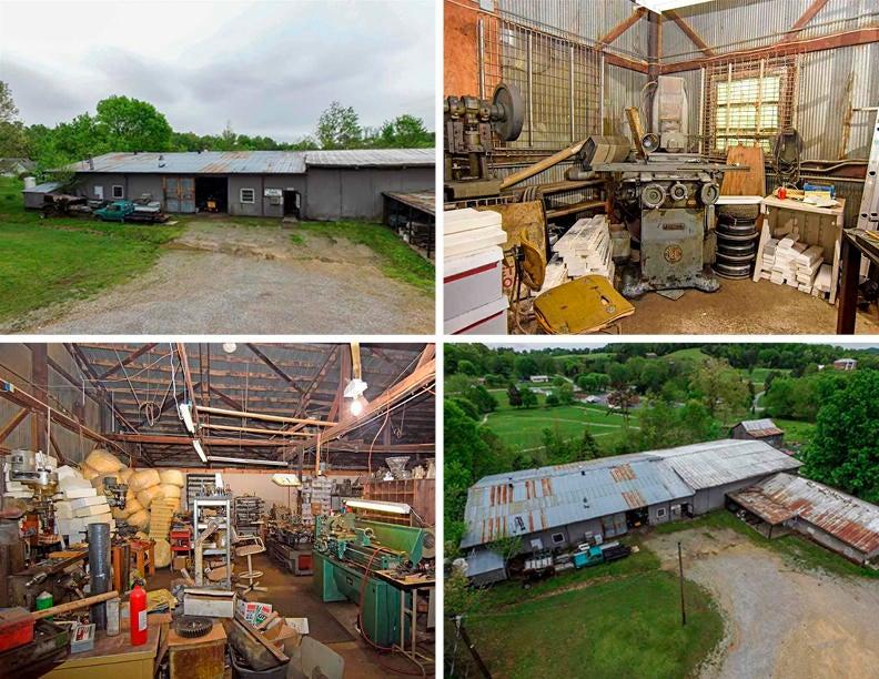 商用 为 销售 在 985 Midway Railroad Street 985 Midway Railroad Street Midway, 田纳西州 37809 美国