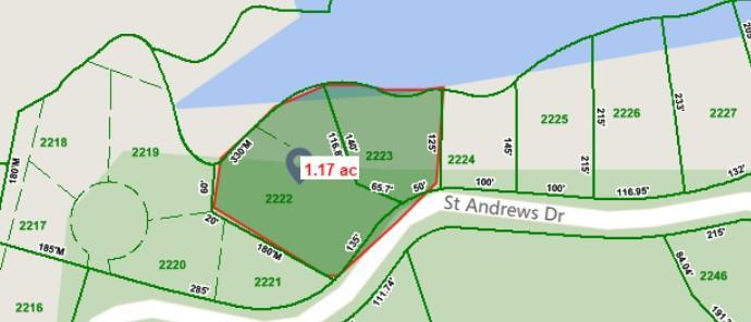 Земля для того Продажа на St Andrews St Andrews Baneberry, Теннесси 37890 Соединенные Штаты