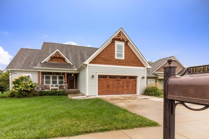 Частный односемейный дом для того Продажа на 11024 Prairie Lake Drive 11024 Prairie Lake Drive Apison, Теннесси 37302 Соединенные Штаты