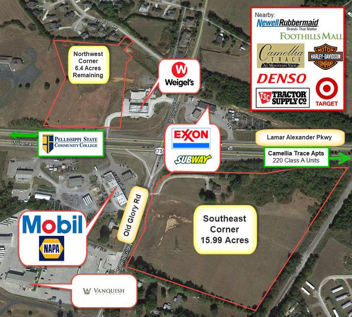 Land for Sale at Old Glory Road Old Glory Road Maryville, Tennessee 37801 United States