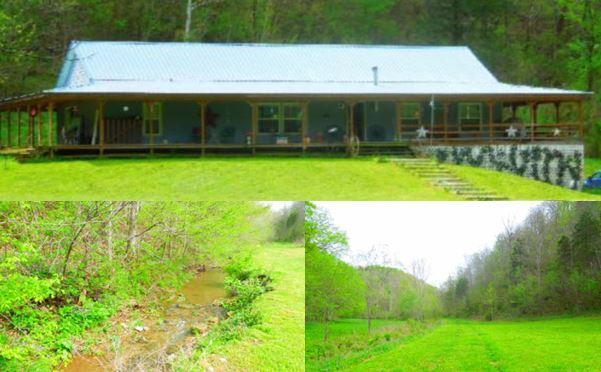 Частный односемейный дом для того Продажа на 1370 Modock Hollow Road Road 1370 Modock Hollow Road Road Celina, Теннесси 38551 Соединенные Штаты