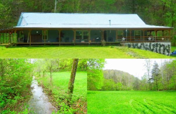 Single Family Home for Sale at 1370 Modock Hollow Road Road 1370 Modock Hollow Road Road Celina, Tennessee 38551 United States