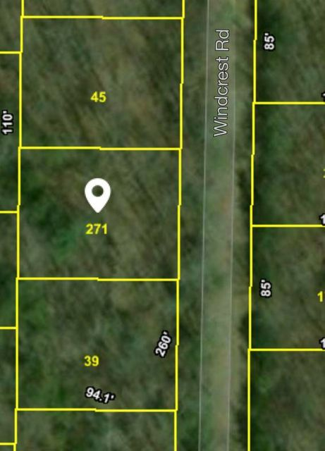 Land for Sale at 112 Windcrest Road 112 Windcrest Road Crossville, Tennessee 38558 United States
