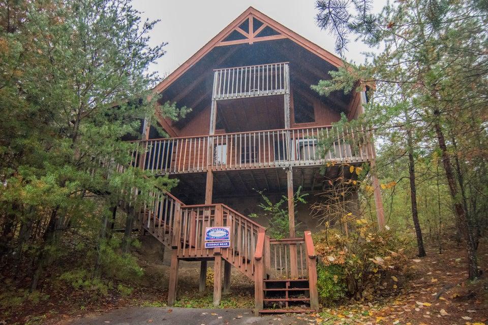 Частный односемейный дом для того Продажа на 1519 Mountain Trail Way 1519 Mountain Trail Way Sevierville, Теннесси 37876 Соединенные Штаты
