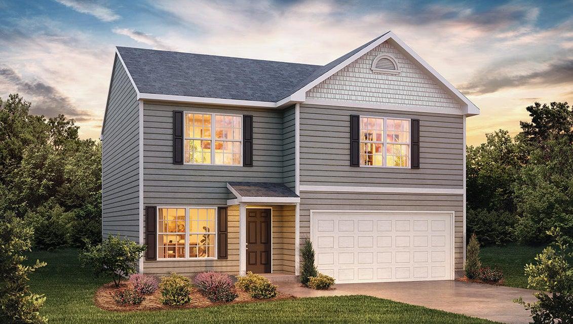 Частный односемейный дом для того Продажа на 9405 Calla Lilly Lane 9405 Calla Lilly Lane Mascot, Теннесси 37806 Соединенные Штаты