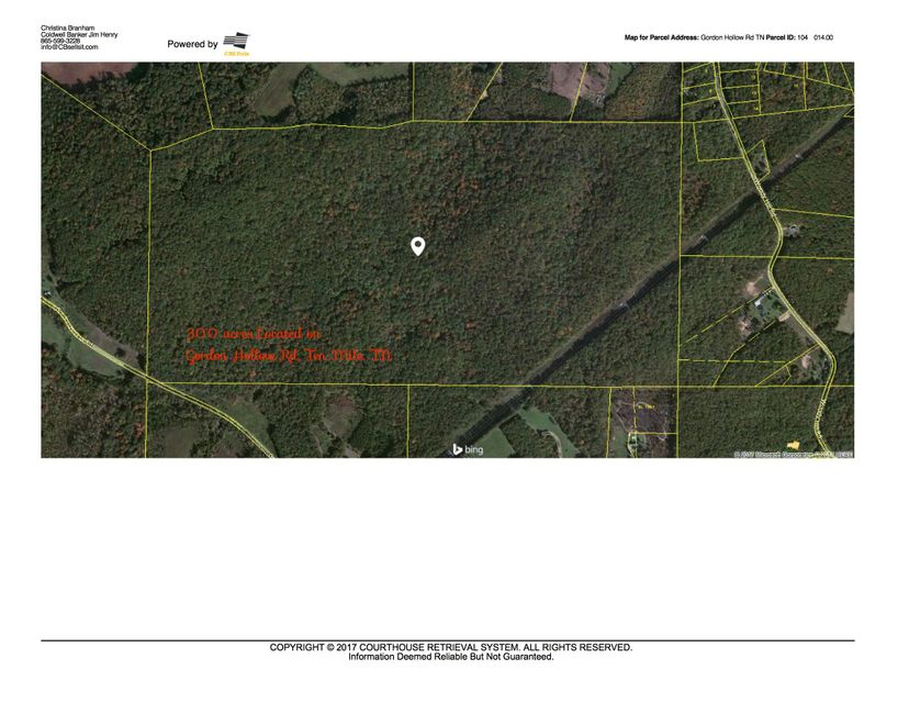 Land for Sale at Gordon Hollow Road Road Gordon Hollow Road Road Ten Mile, Tennessee 37880 United States