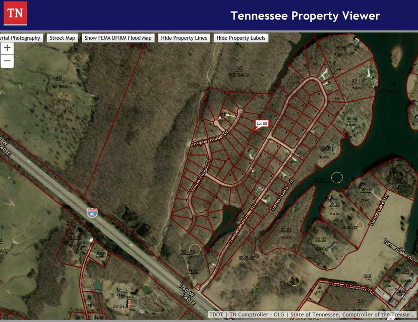 Land for Sale at 9 Poplar Ridge Drive 9 Poplar Ridge Drive Crossville, Tennessee 38571 United States