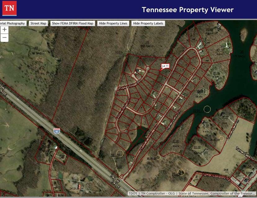Terrain pour l Vente à 11 Poplar Ridge Drive 11 Poplar Ridge Drive Crossville, Tennessee 38571 États-Unis