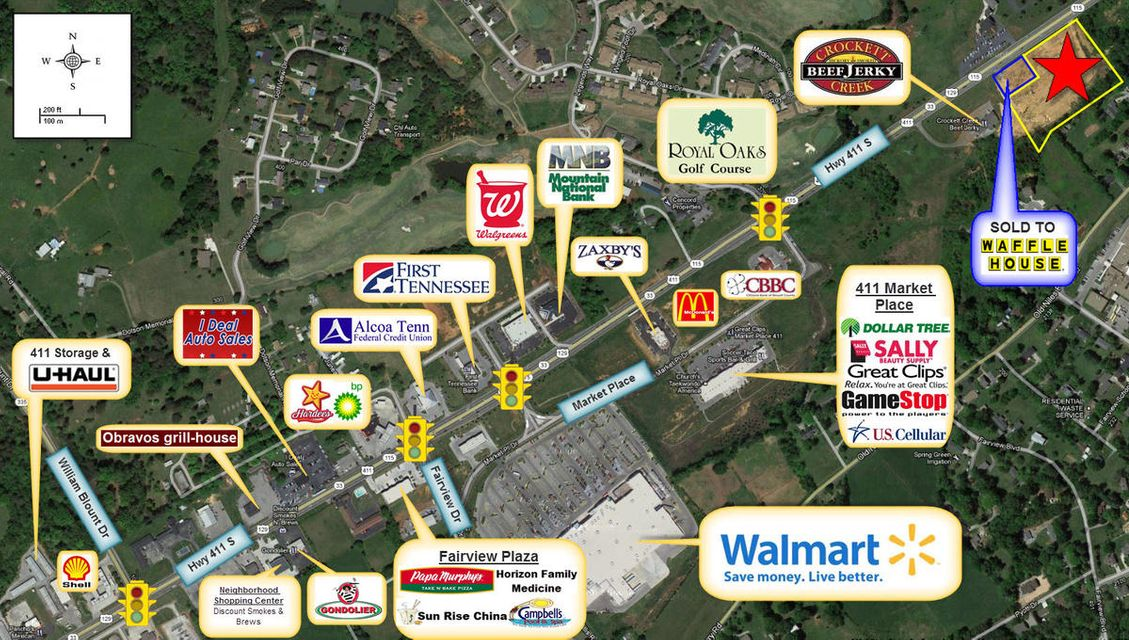 Land for Sale at S 411 S 411 Maryville, Tennessee 37801 United States