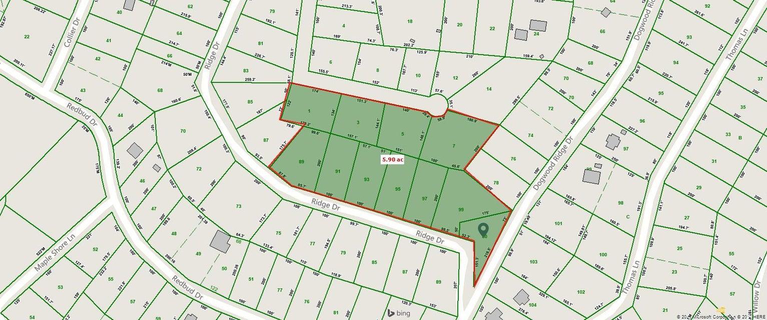 Земля для того Продажа на 329 Ridge Circle 329 Ridge Circle Kingston, Теннесси 37763 Соединенные Штаты