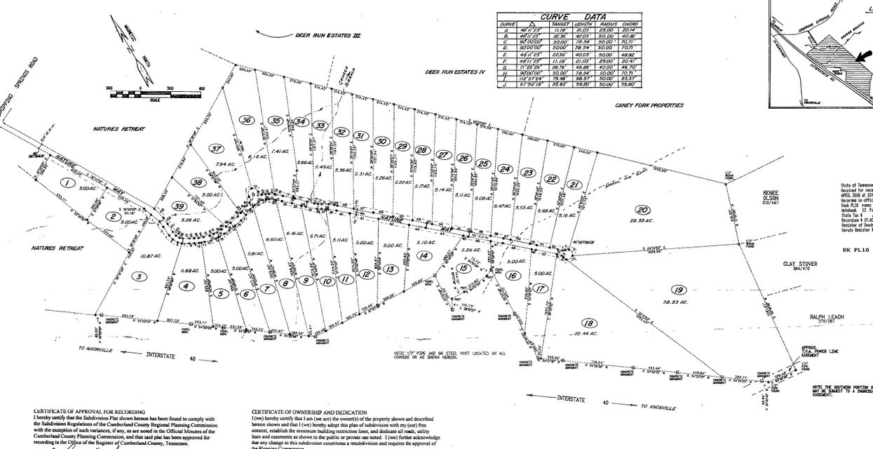 Land for Sale at Dripping Springs Road Dripping Springs Road Crossville, Tennessee 38571 United States