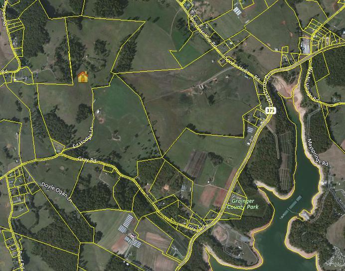Terrain pour l Vente à Gray Road Gray Road Rutledge, Tennessee 37861 États-Unis