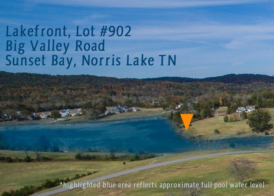 Terrain pour l Vente à Lot 902 Big Valley Road Lot 902 Big Valley Road Sharps Chapel, Tennessee 37866 États-Unis