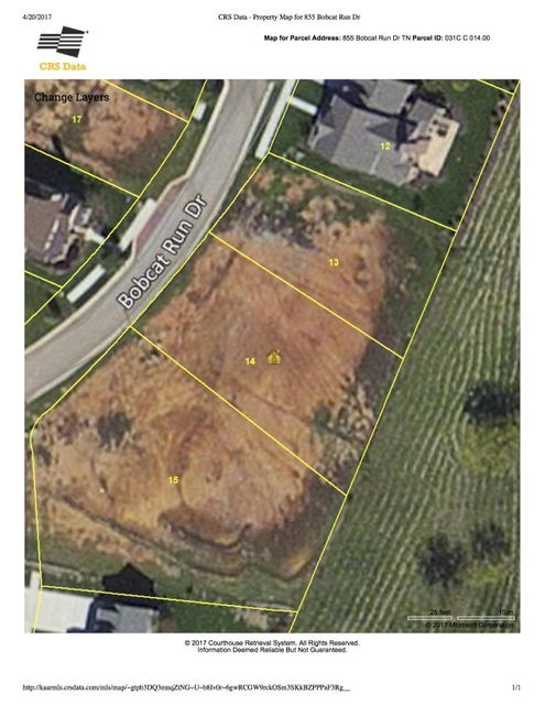 Земля для того Продажа на 855 Bobcat Run Drive 855 Bobcat Run Drive Loudon, Теннесси 37774 Соединенные Штаты