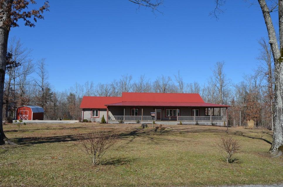 Частный односемейный дом для того Продажа на 785 Little Hurricane Tr 785 Little Hurricane Tr Clarkrange, Теннесси 38553 Соединенные Штаты