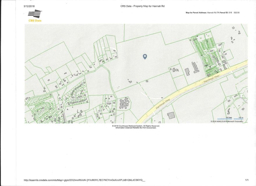 Land for Sale at Hannah Road Hannah Road Harriman, Tennessee 37748 United States