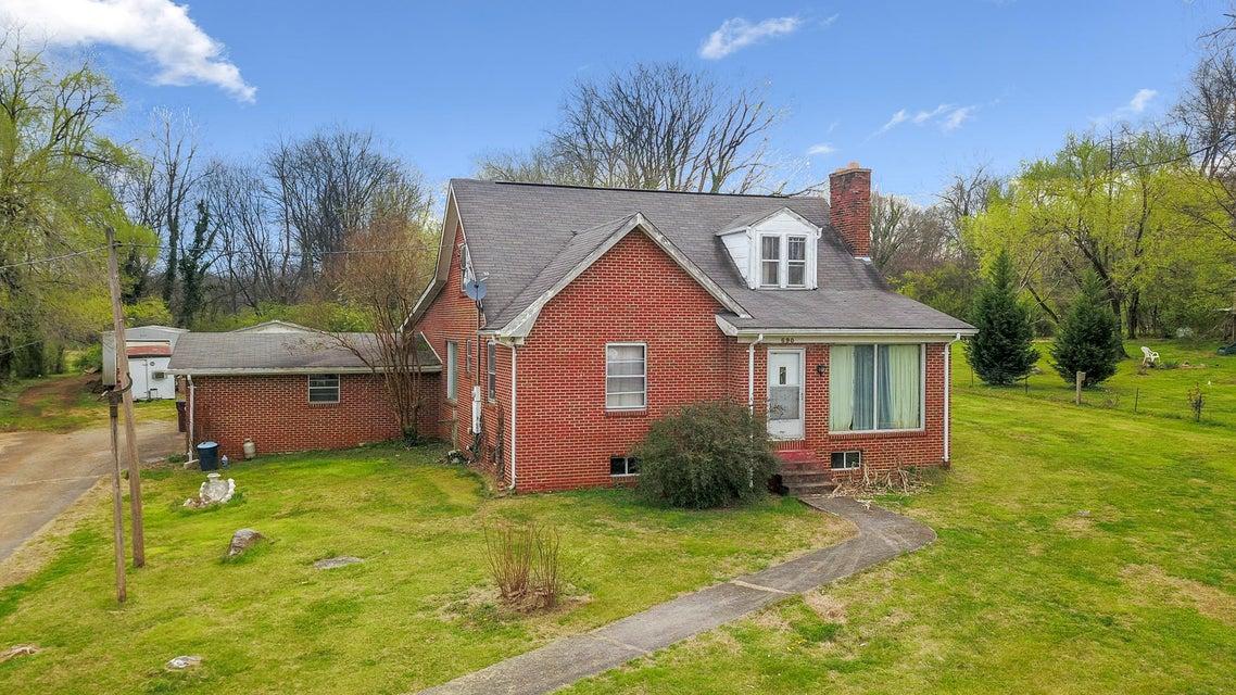 Maison unifamiliale pour l Vente à 690 N Wright Road 690 N Wright Road Alcoa, Tennessee 37701 États-Unis