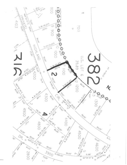 820 NW Highland Circle, Waldport, OR 97394 - Plat map